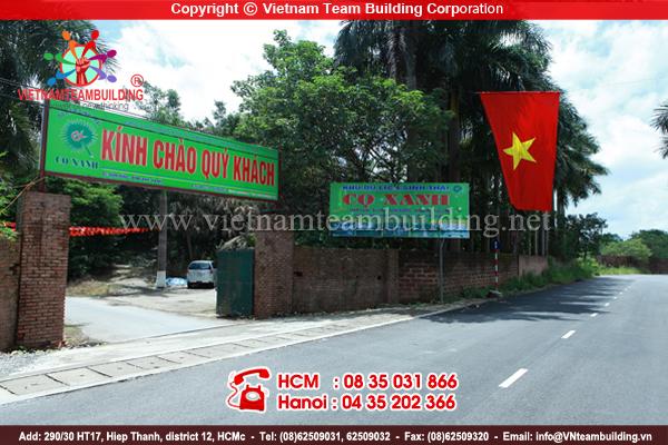 khu du lịch sinh thái Cọ Xanh địa điểm tổ chức team building