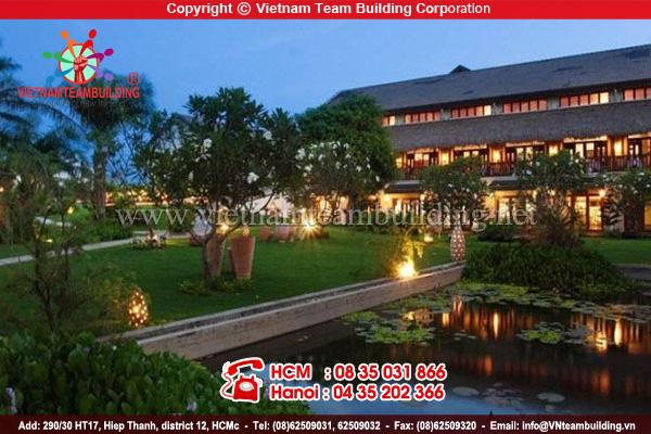 V Resort địa điểm tổ chức team building tại Hà Nội