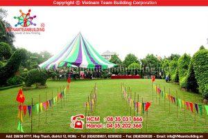 Địa điểm tổ chức teambuilding tại Hà Nội: Sông Hồng resort