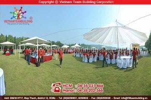 Địa điểm tổ chức teambuilding tại Hà Nội: Đại Lải Flamingo resort